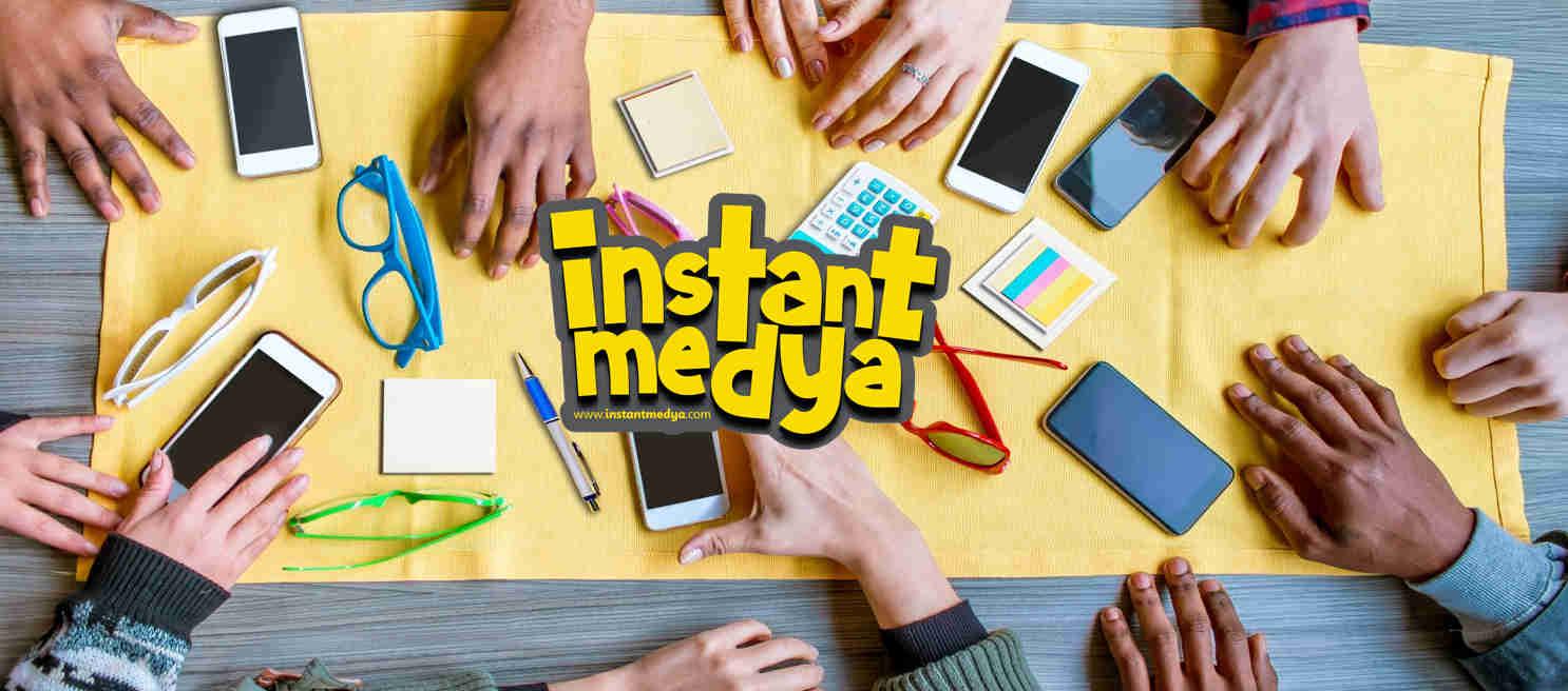 Instant medya banner fotograf