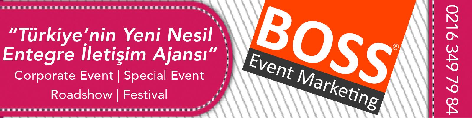 Boss Event Marketing banner fotograf