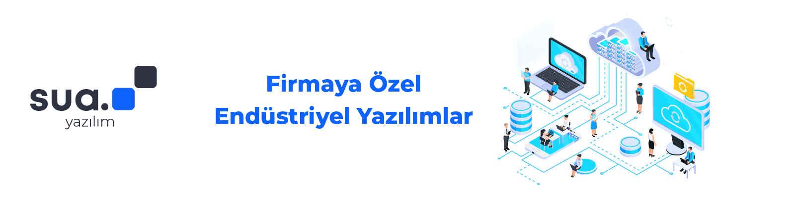 Sua Yazilim banner fotograf
