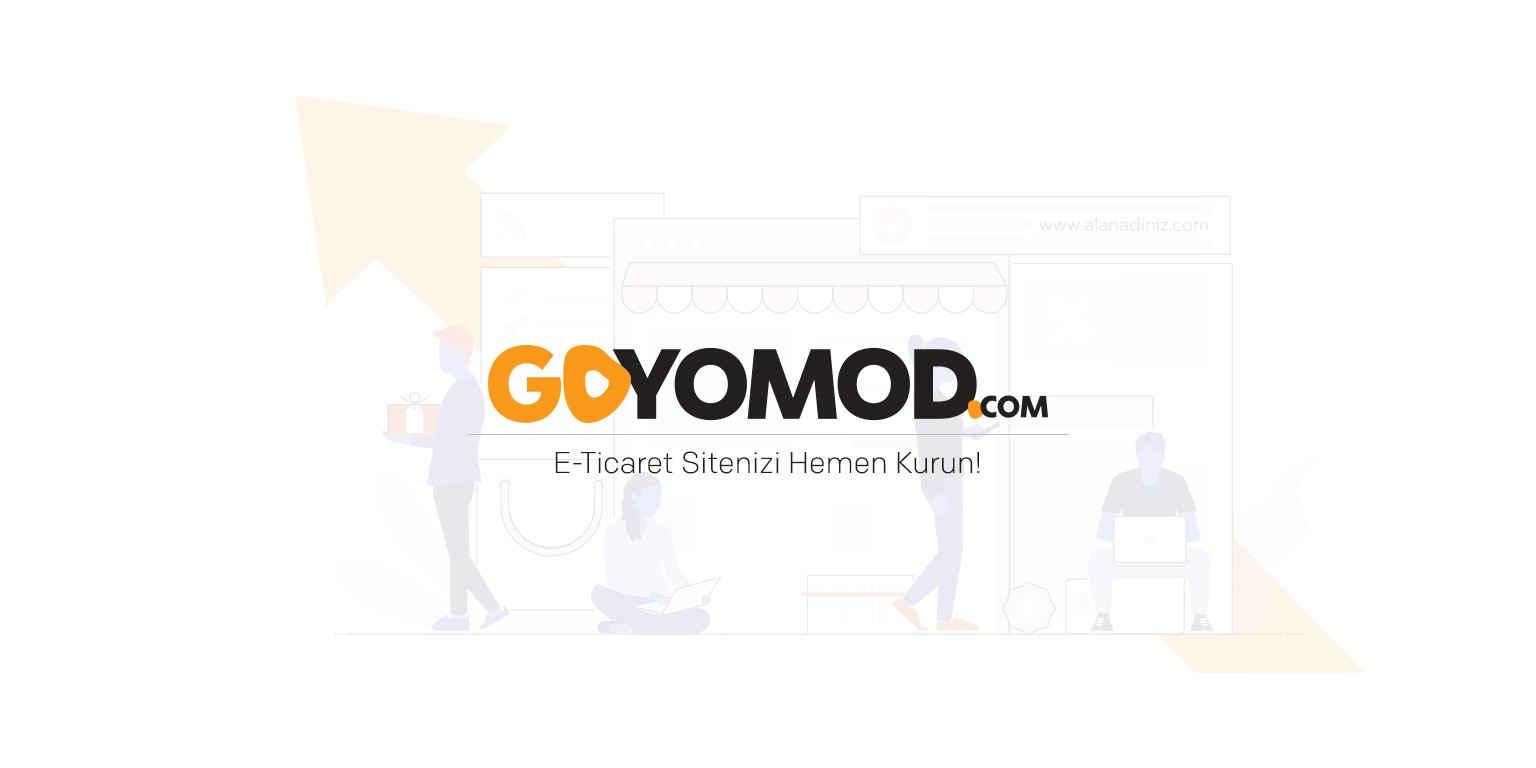 Goyomod E-Ticaret Yazılımı banner fotograf