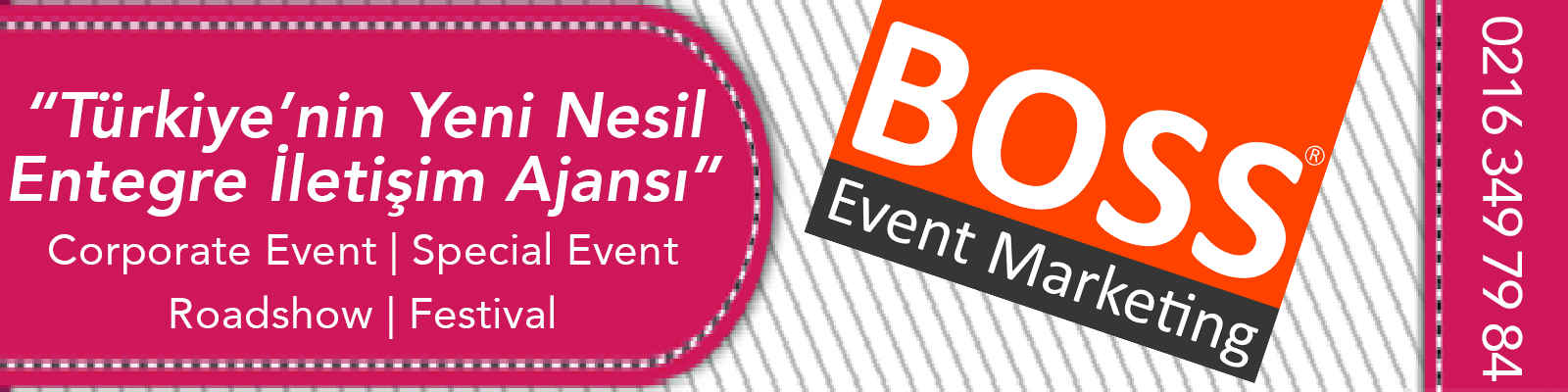 Boss Event Marketing banner fotograf