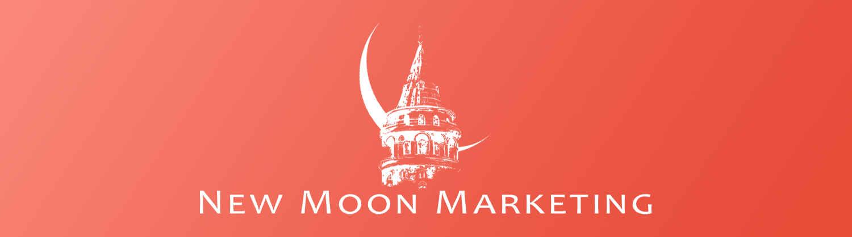 New Moon Marketing banner fotograf