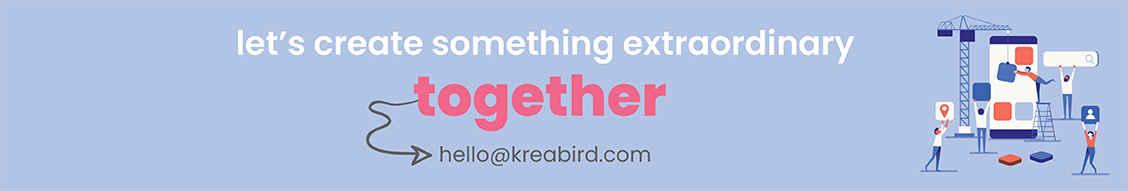 Kreabird banner fotograf